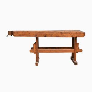 Oak Carpenter's Workbench, 1930s