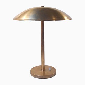 Art Deco Brass Desk Lamp by Lyfa Denmark, 1930s