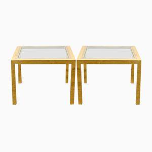 Mid-Century Side Tables by Romeo Rega, 1970s, Set of 2