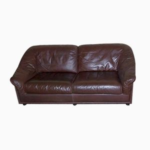 Dutch Leather Sofa from Leolux