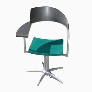 Vintage Techno Armchair by Phillippe Starck, 1980s