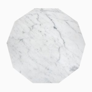 Decagon Marble Platter from Fort Standard