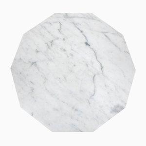 Decagon Marmor Servierplatte von Fort Standard