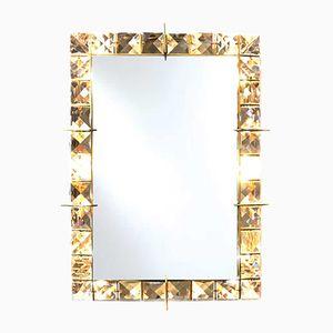 Mid-Cenury Austrian Illuminated Mirror, 1950s