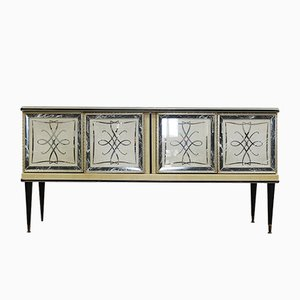 Mid-Century Harrods Sideboard by Umberto Mascagni for Barget, 1950s
