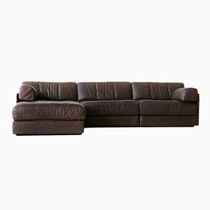 Vintage Sofa und Ottoman von de Sede