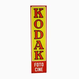 Emailliertes Kodak Schild, 1958
