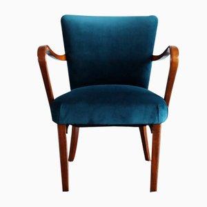 Blaue sessel von thonet 1930er 2er set bei pamono kaufen - Polsterstuhl samt ...