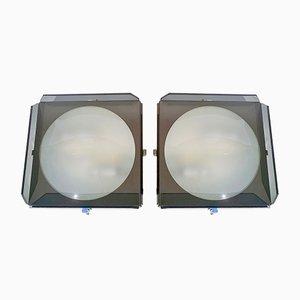 Wandlampen von Veca, 1960er, 2er Set