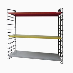Wall Rack with Three Metal Shelves from Tomado, 1960s