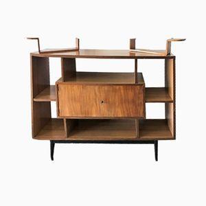 Modern Danish Teak Bookcase, 1960s