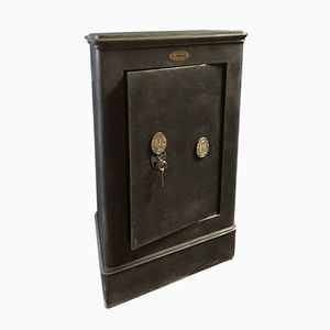 Vintage Industrial Safe from Lequeue