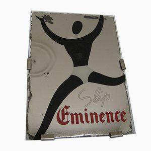 Beleuchtetes Eminence Unterhosen Schild, 1950er