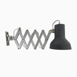 Aluminum Scissor Lamp, 1960s