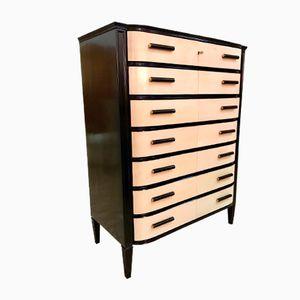 Art Deco Parchment Dresser, 1940s