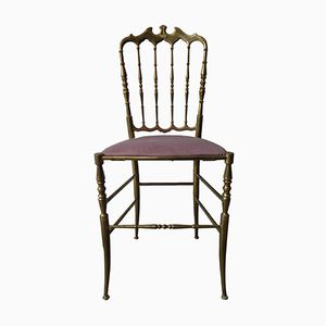 Vintage Brass Chiavari Chair