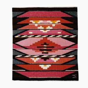 Danish Textile Tapestry by Mette Birckner, 1980s