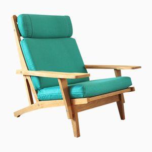 Vintage Model GE 375 Armchair by Hans J. Wegner for Getama