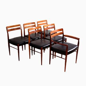 Dining Chairs by H W Klein for Bramin, 1960s, Set of 6