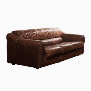 Buffalo Leather 3-Seater Sofa, 1970s