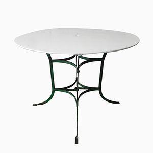 Französischer Stahl Gartentisch