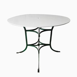 French Steel Garden Table