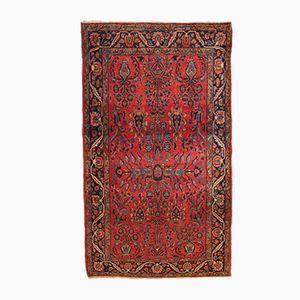 Antiker Handgemachter Persischer Sarouk Teppich, 1900er