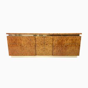 Poplar Burl Sideboard, 1970s