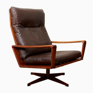 Mid-Century Lounge Chair by Arne Wahl Iversen for Komfort