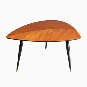 Leaf Top Side Table, 1950s