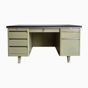 Vintage Steel President Desk, 1960s