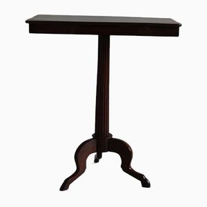 Occasional Table in Solid Mahogany, 18th Century