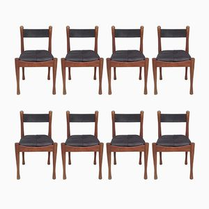 Dining Chairs by Silvio Coppola for Bernini, 1960s, Set of 8