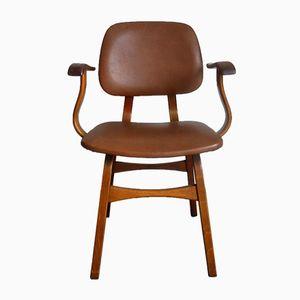 Teak & Skai Dining Chair, 1960s