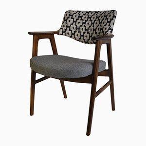 Mahogany & Rosewood Armchair by Erik Kirkegaard for Høng Stolefabrik, 1950s