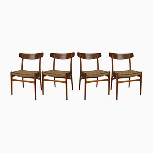 Model CH23 Dining Chairs by Hans Wegner for Carl Hansen & Søn, 1955, Set of 4