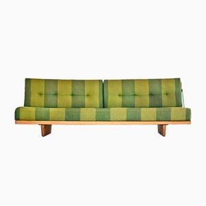 Modell 191 Sofa oder Tagesbett aus Eichenholz von Børge Mogensen für Fredericia Stolefabrik, 1955