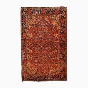 Antique Persian Sarouk Farahan Handmade Rug, 1880s