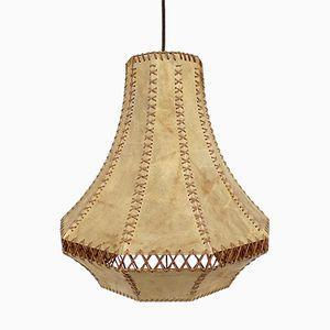 Vintage Goat Skin Lamp