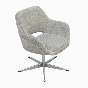 Vintage Swivel Soft Chair with Star Base from Stol Kamnik, 1970s