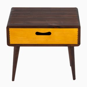 Mid-Century Side Table with Drawer