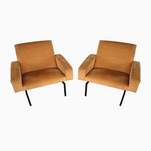 Tempo Sessel von Joseph André Motte für Steiner, 1960er, 2er Set