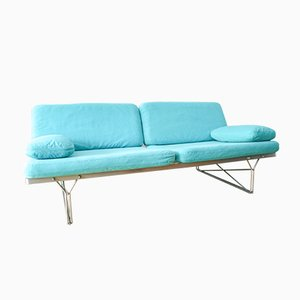 Turquoise Moment Sofa by Niels Gammelgaard for Ikea