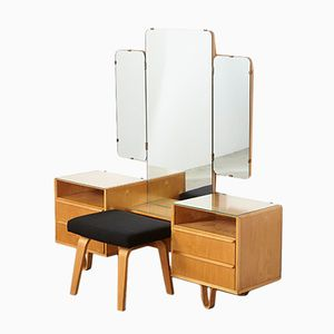 Dressing Table & PB02 Stool by Cees Braakman for Pastoe, 1950s