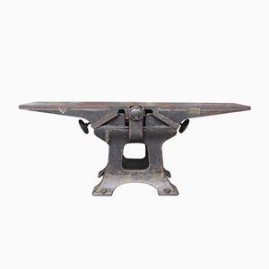 Industrial Cast Iron Work Bench from Van Wingerden & Co.