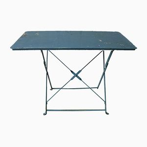 Industrial Steel Folding Garden Table