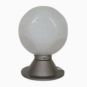 Vintage Table Lamp with Glass Sphere