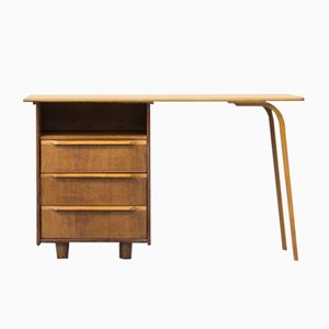 Vintage EE02 Oak Desk by Cees Braakman for Pastoe