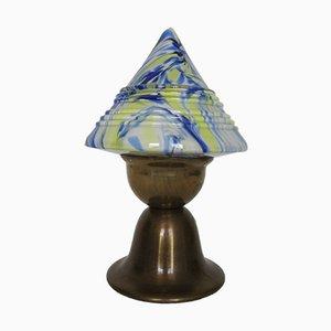 Lampada da tavolo a fungo Art Déco, anni '30