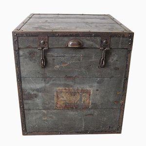 Vintage Militär Holzkiste
